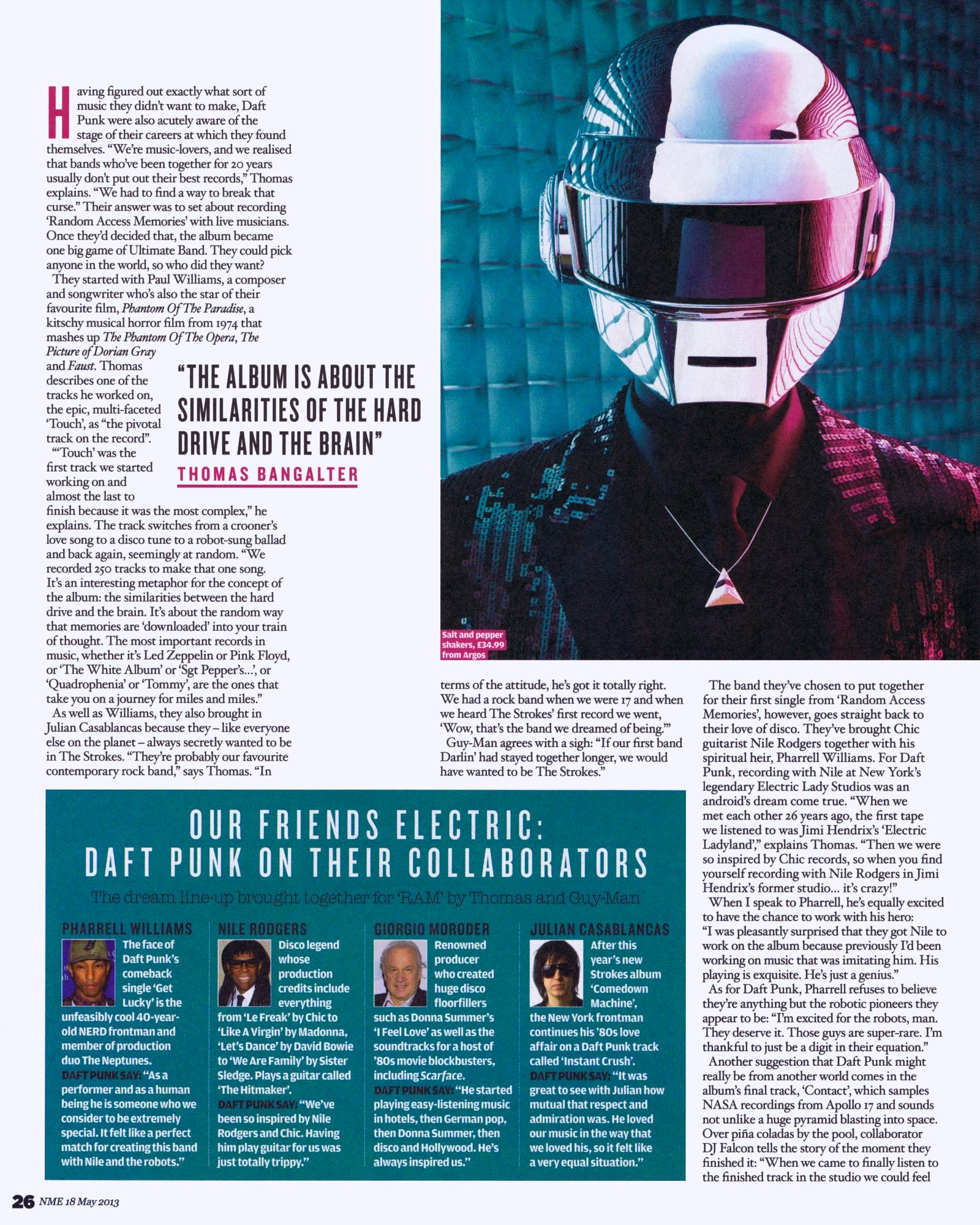 "Daft Punk: ""We don\'t have egos, we have superpowers"" 
