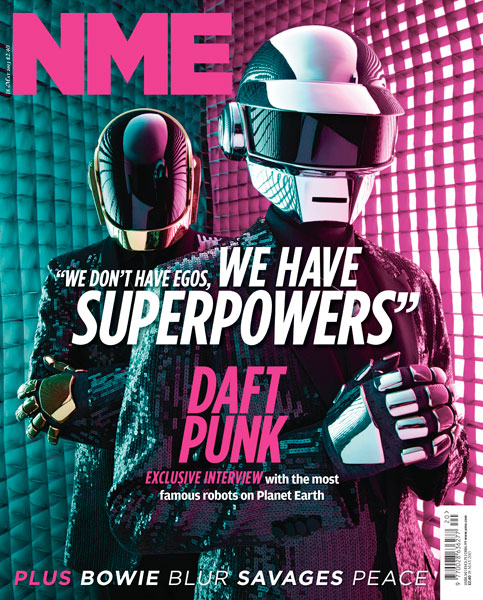 NME Daft Punk Cover 18 May 2013