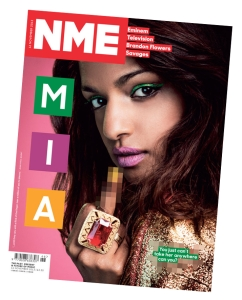 MIA cover feature for NME