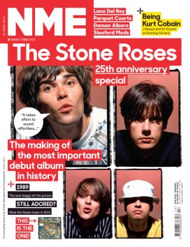 The Stone Roses // NME: https://kevinegperry.com/2014/04/22/they-were-the-resurrection-the-stone-roses-nme-cover-feature/
