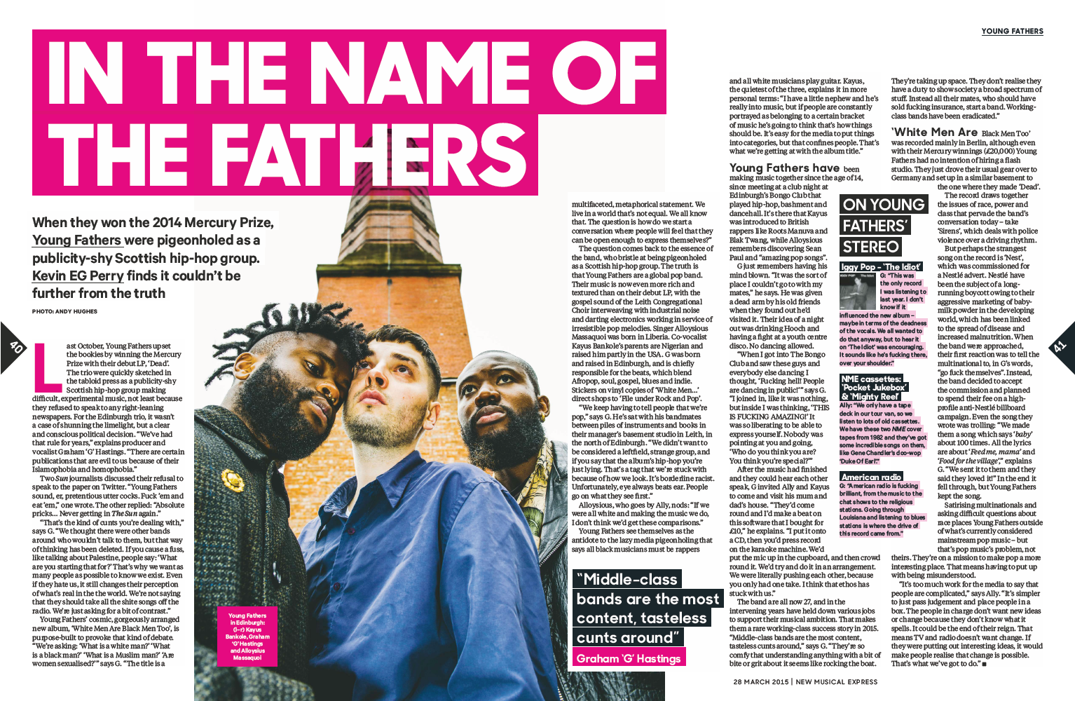 Young fathers dead