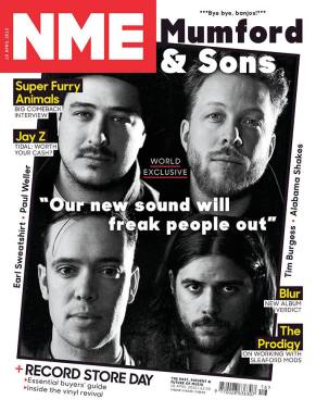 Mumford & Sons // NME: https://kevinegperry.com/2015/04/14/between-rock-and-a-hard-place-mumford-and-sons-nme-cover/