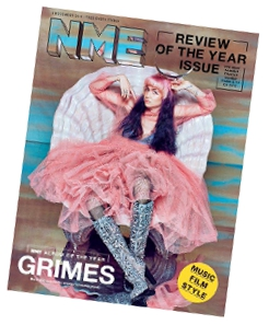 Grimes cover story for NME
