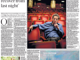 Philip Glass: 'I wanted to compose, not recover from last night'