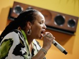 Sister Nancy is the first lady of dancehall
