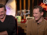 Jon Hamm & Lewis Pullman on Humphrey Bogart and Bad Times at the El Royale