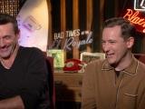 Jon Hamm & Lewis Pullman on Humphrey Bogart and Bad Times at the ElRoyale