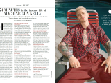 74 minutes in the insane life of Machine Gun Kelly