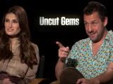 Adam Sandler & Idina Menzel on Uncut Gems