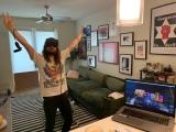 Inside Lost Horizon, the virtual reality version of Glastonbury'sShangri-La